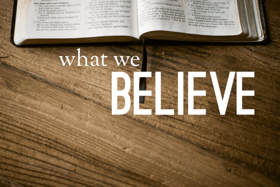 STATEMENT OF FAITH